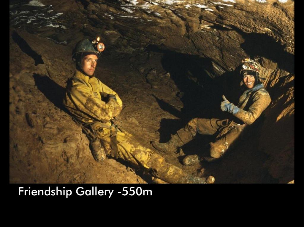 Friendship Gallery -550m
