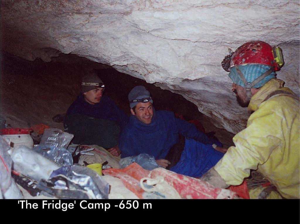 'The Fridge' Camp -650 m
