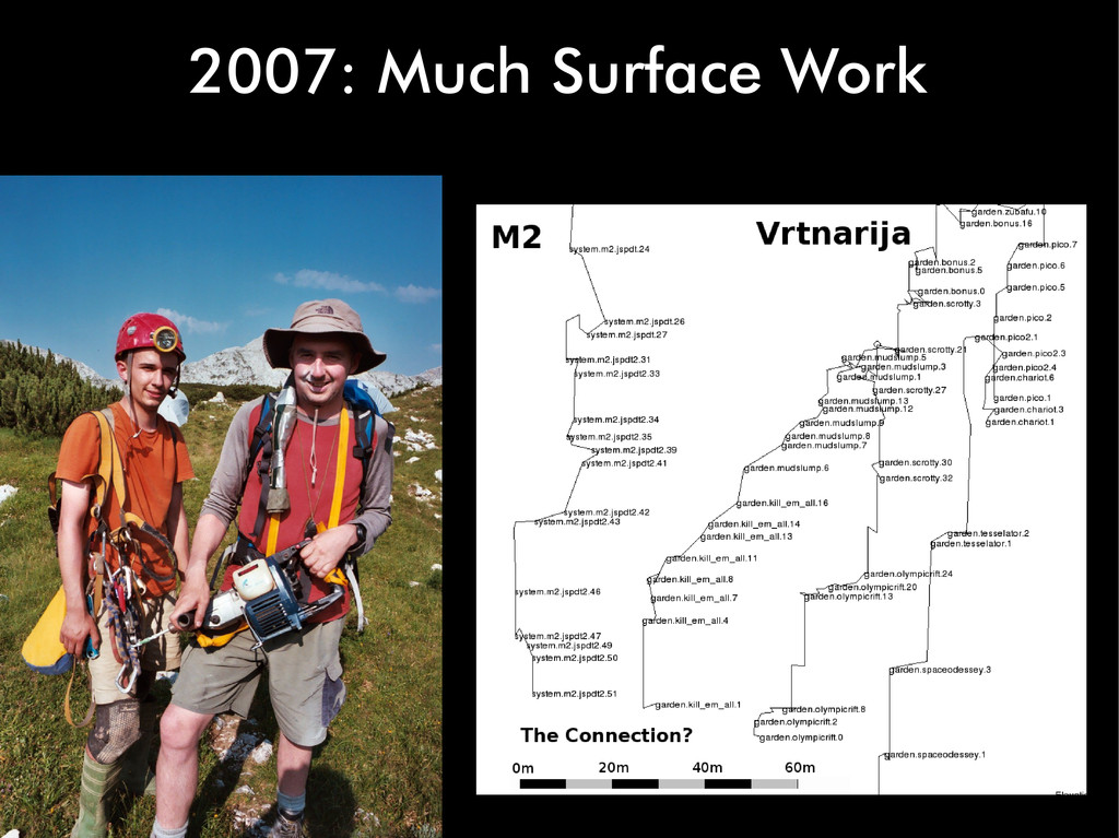 2007: Much Surface Work