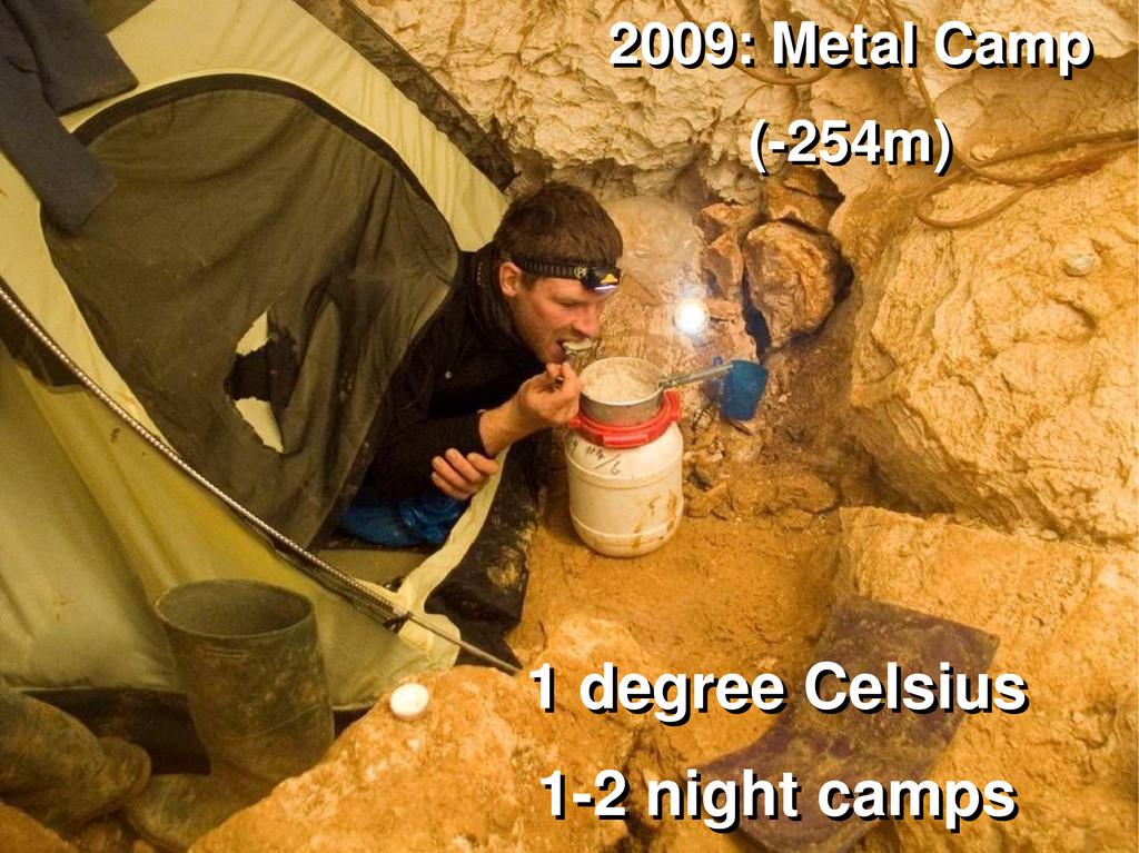 2009: Metal Camp 2009: Metal Camp (-254m) (-254...