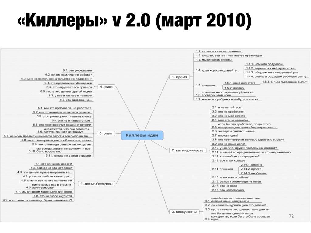 «Киллеры» v 2.0 (март 2010) 72