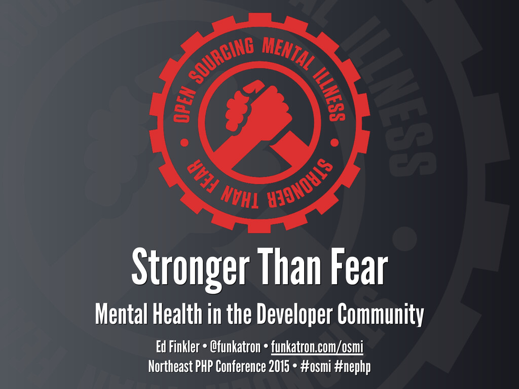 Stronger Than Fear Mental Health in the Develo...