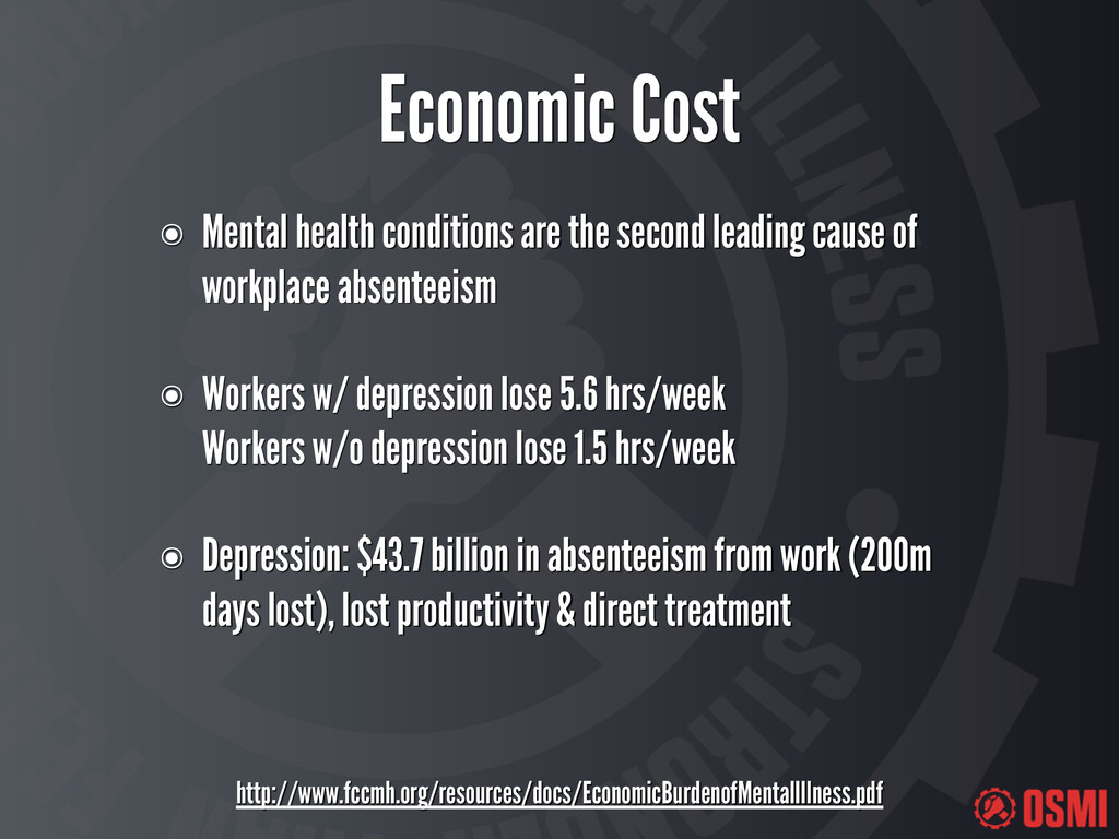 Economic Cost http://www.fccmh.org/resources/do...