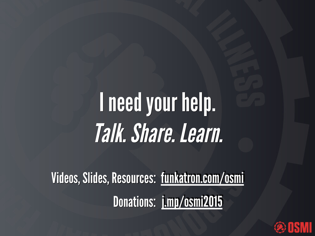 I need your help. Talk. Share. Learn. Donation...