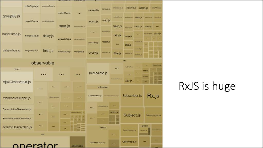 RxJS is huge