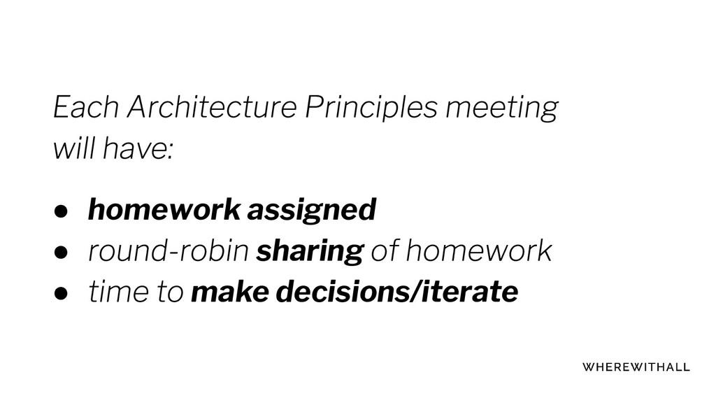 ● homework assigned ● sharing ● make decisions/...