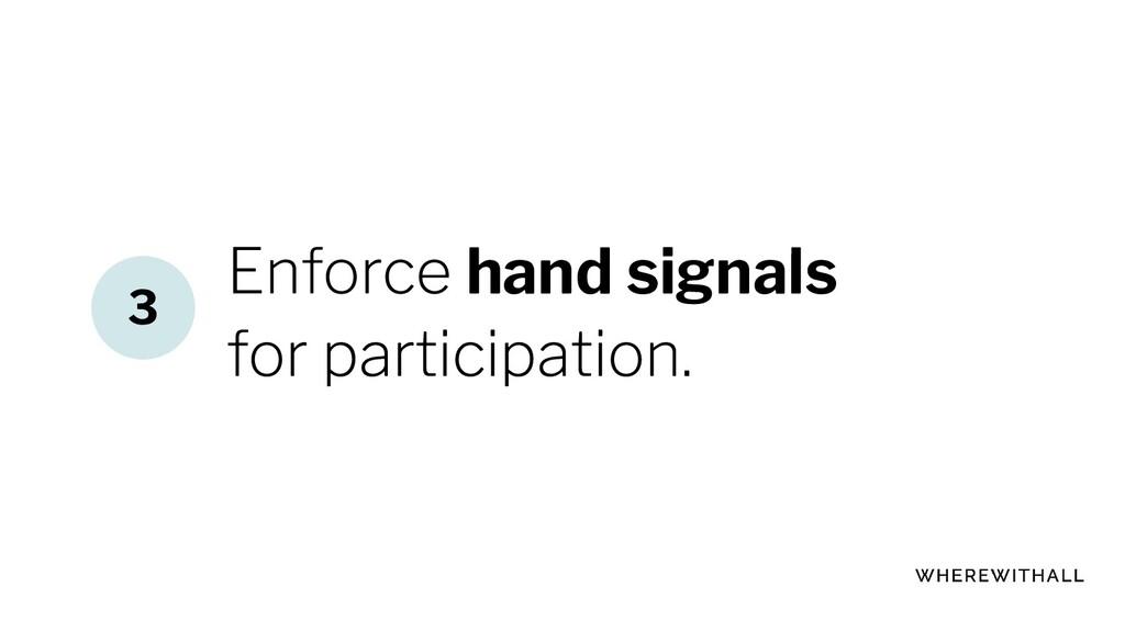 hand signals 3