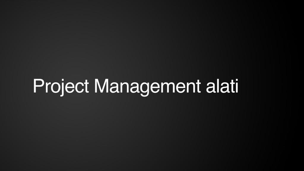 Project Management alati