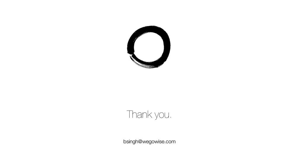 Thank you. bsingh@wegowise.com