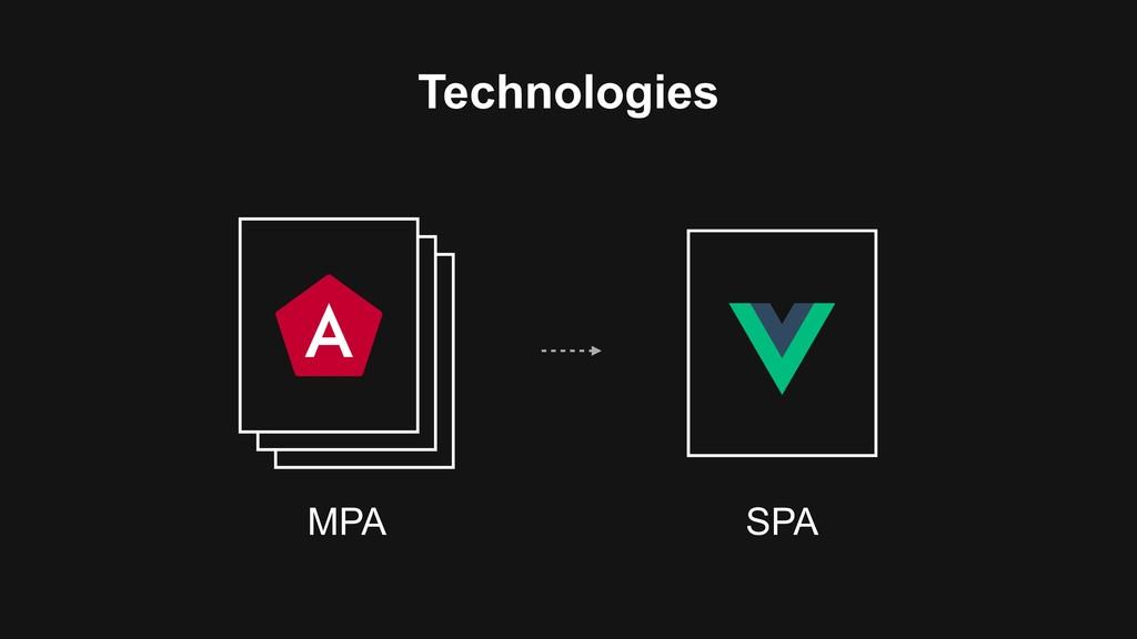 Technologies MPA SPA