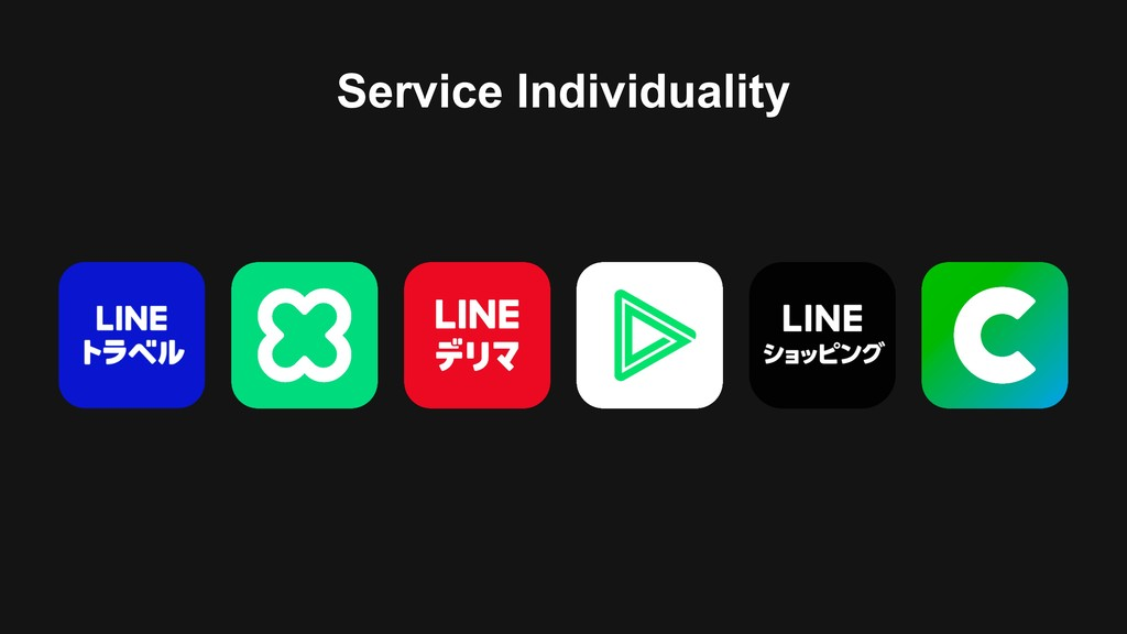 Service Individuality