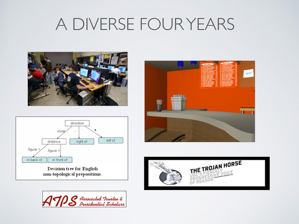 A DIVERSE FOUR YEARS
