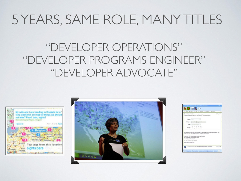 """DEVELOPER OPERATIONS"" ""DEVELOPER PROGRAMS ENGI..."