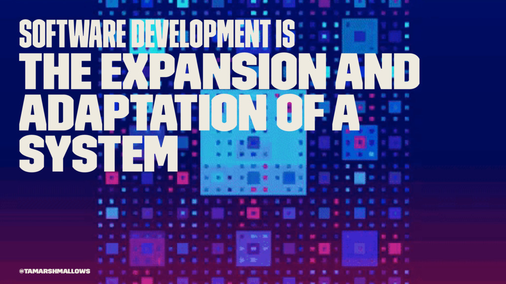 Software development is the expansion and adapt...
