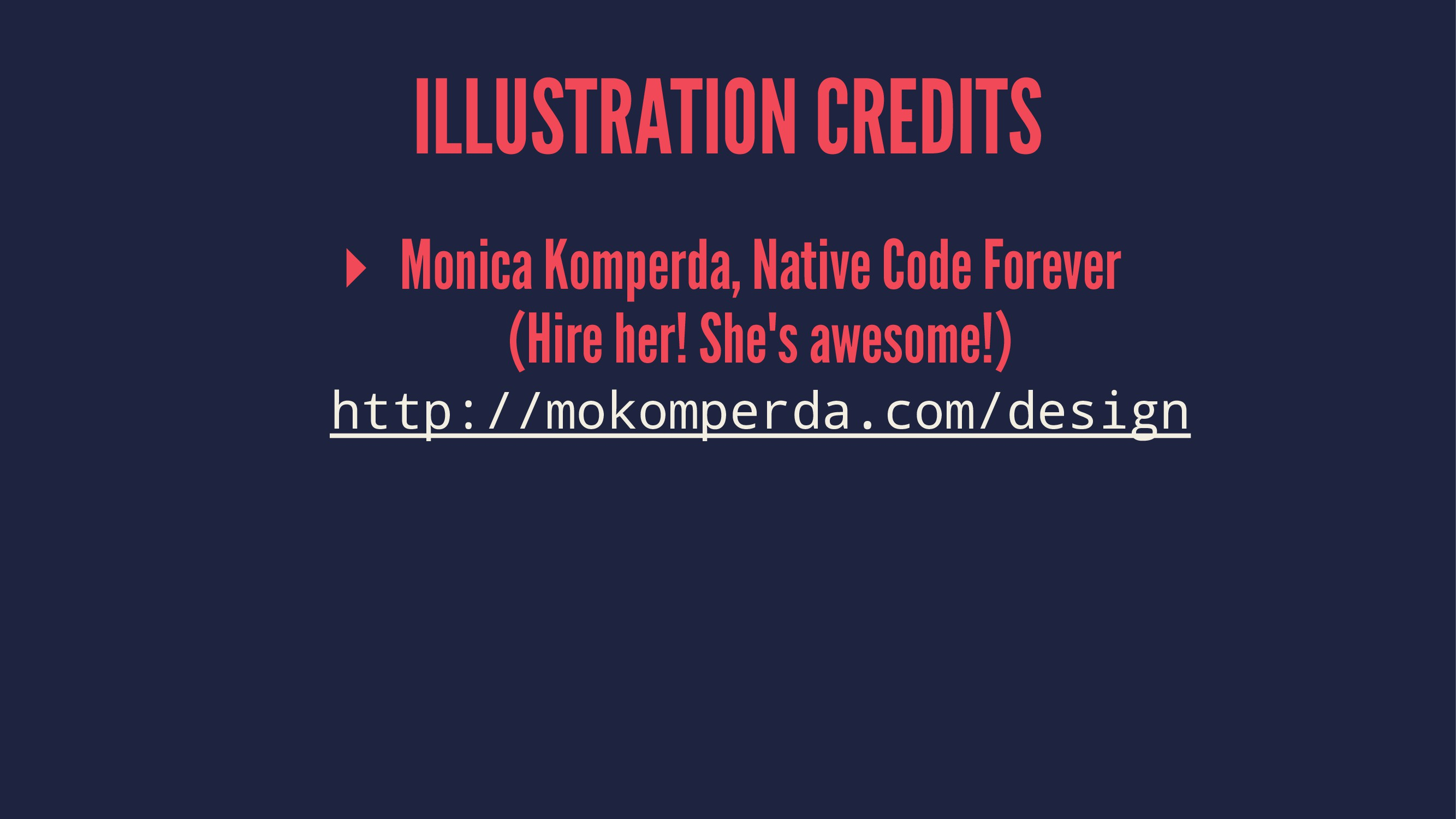 ILLUSTRATION CREDITS ▸ Monica Komperda, Native ...