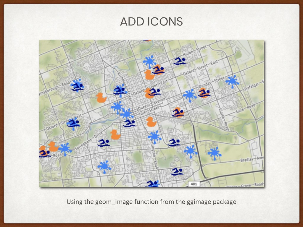 ADD ICONS Using the geom_image function from th...