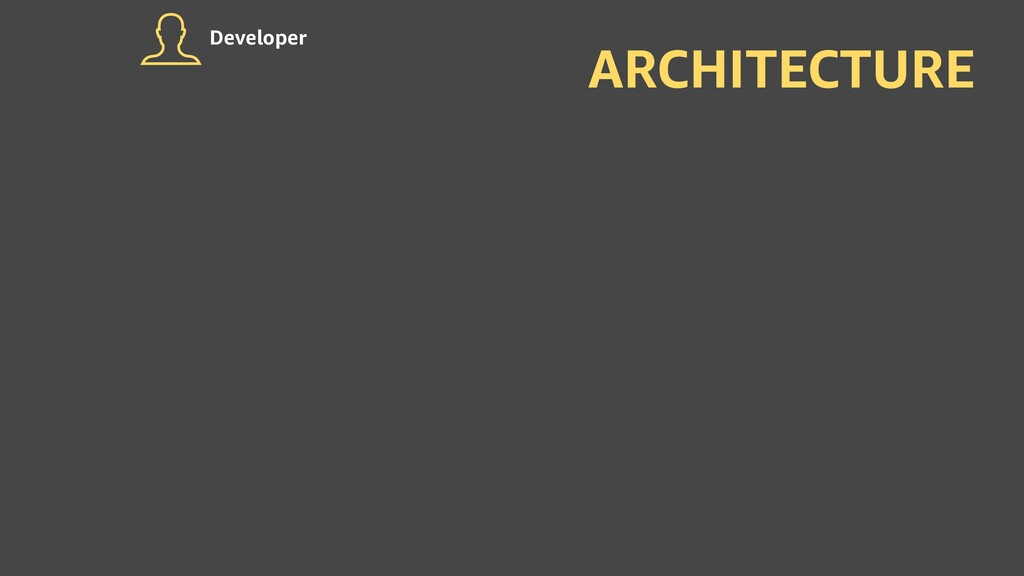 ARCHITECTURE Developer