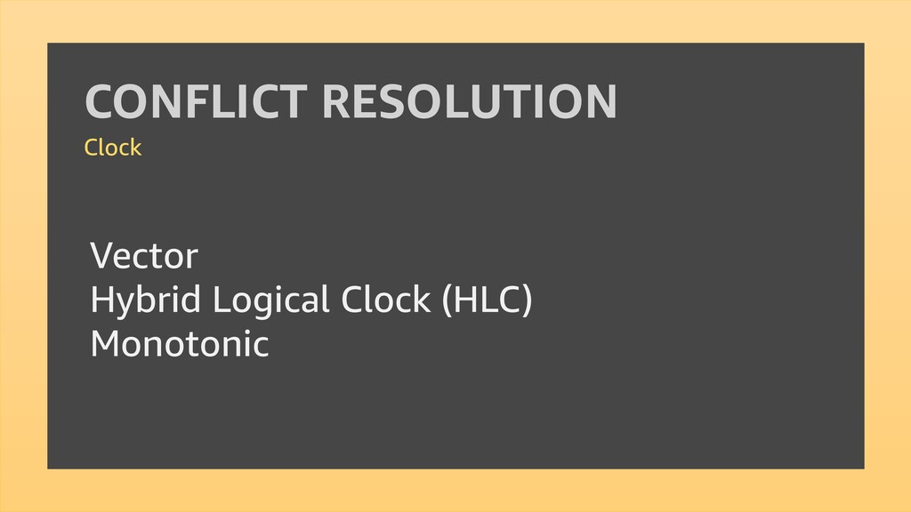 Vector Hybrid Logical Clock (HLC) Monotonic CON...