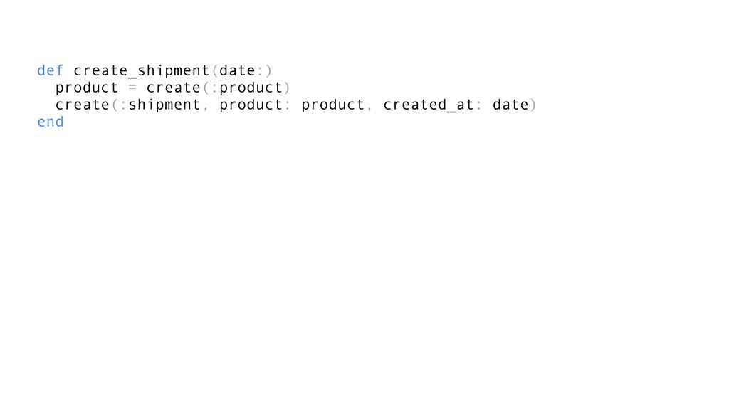 def create_shipment(date:) product = create(:pr...