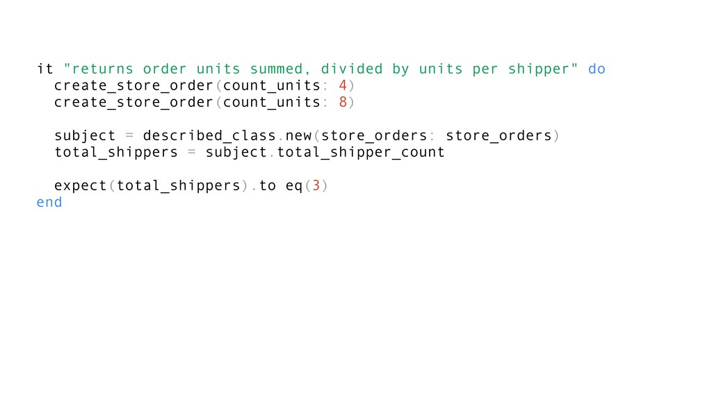 "it ""returns order units summed, divided by unit..."