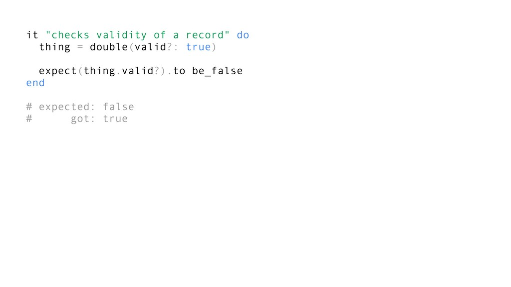 "it ""checks validity of a record"" do thing = dou..."