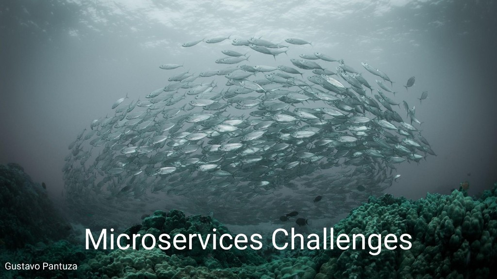 Gustavo Pantuza Microservices Challenges