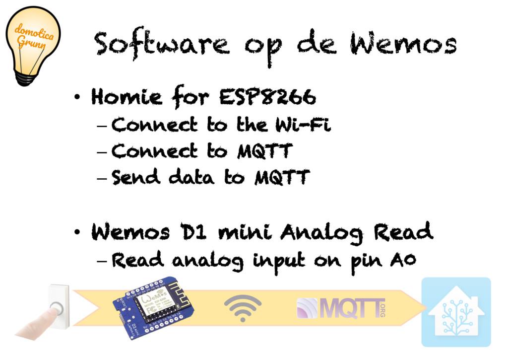 Software op de Wemos • Homie for ESP8266 – Conn...