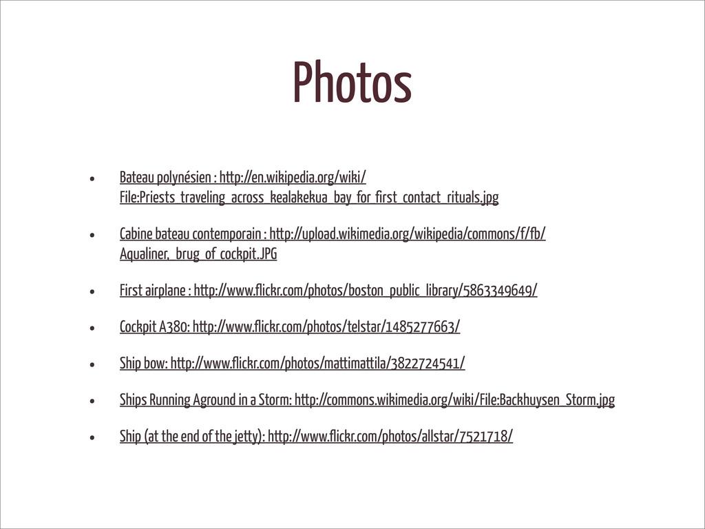 Photos • Bateau polynésien : http://en.wikipedi...