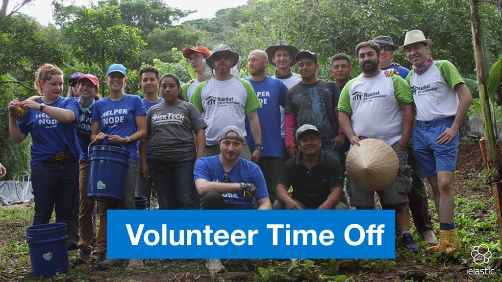 Volunteer Time Off