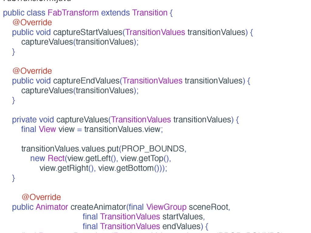 'BC5SBOTGPSNKBWB public class FabTransform ext...