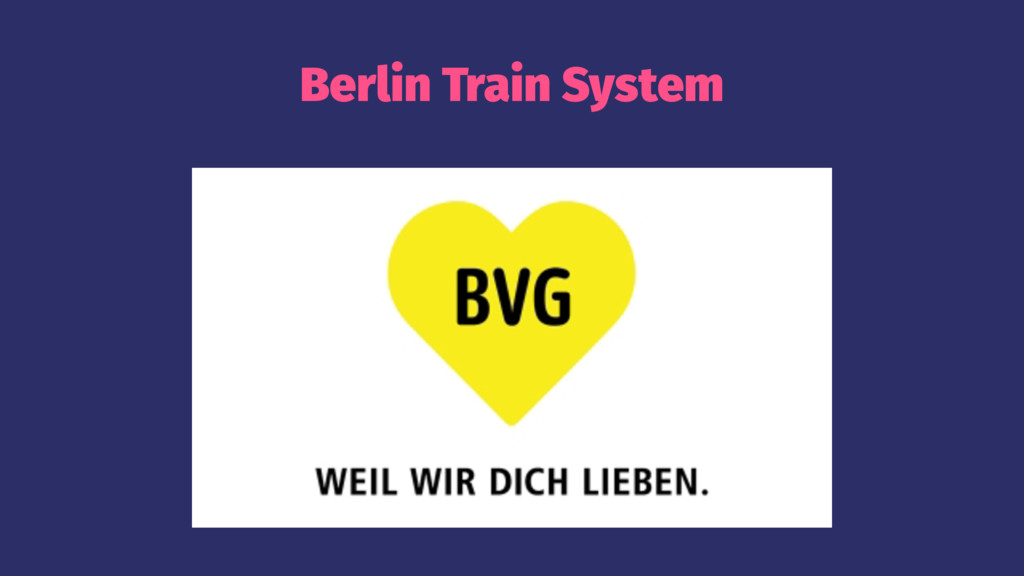 Berlin Train System