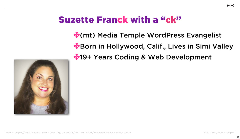 Media Temple // 8520 National Blvd. Culver City...