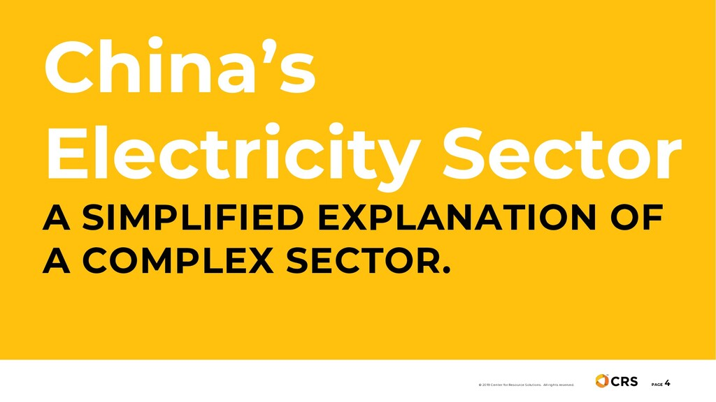 China's Electricity Sector A SIMPLIFIED EXPLANA...