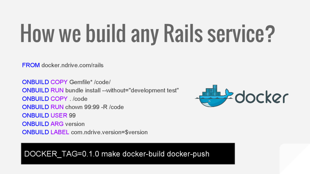 How we build any Rails service? FROM docker.ndr...