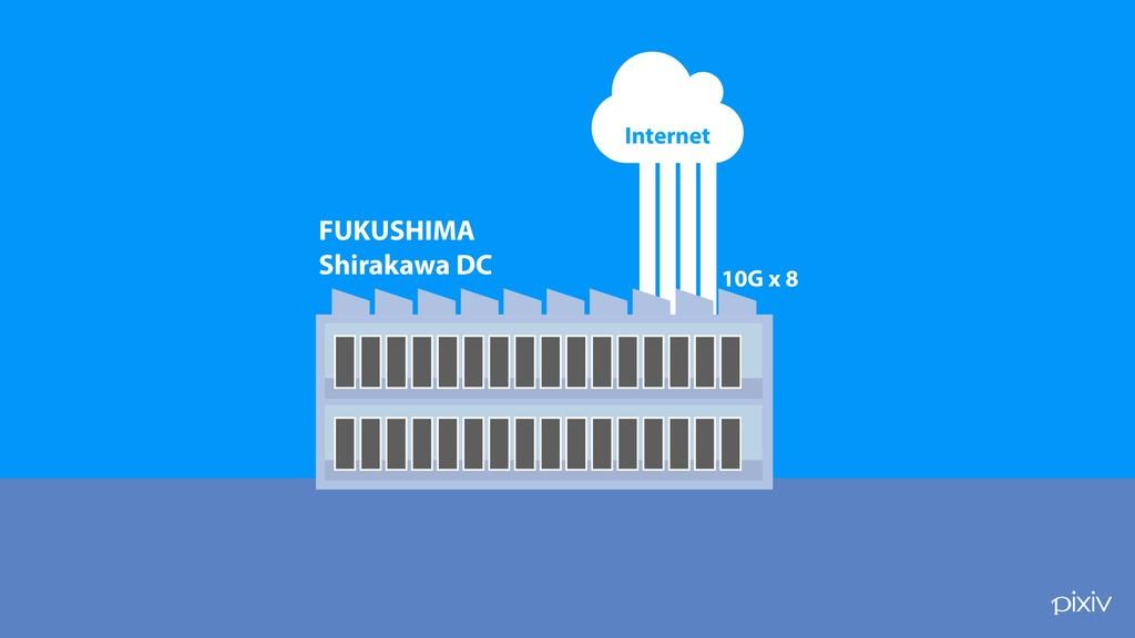 ! FUKUSHIMA Shirakawa DC 10G x 8 Internet