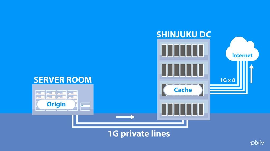 1G private lines ! SERVER ROOM SHINJUKU DC 1G x...