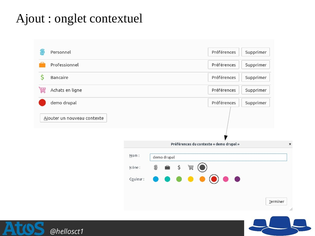 Atos Open Source @hellosct1 Ajout : onglet cont...