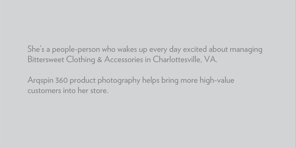 She's a people-person who wakes up every day ex...