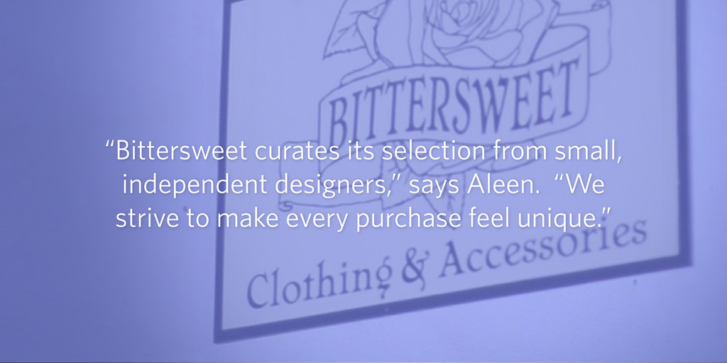 """""""Bittersweet curates its selection from small, ..."""