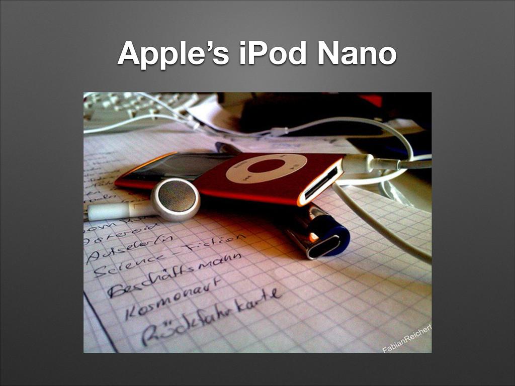 Apple's iPod Nano