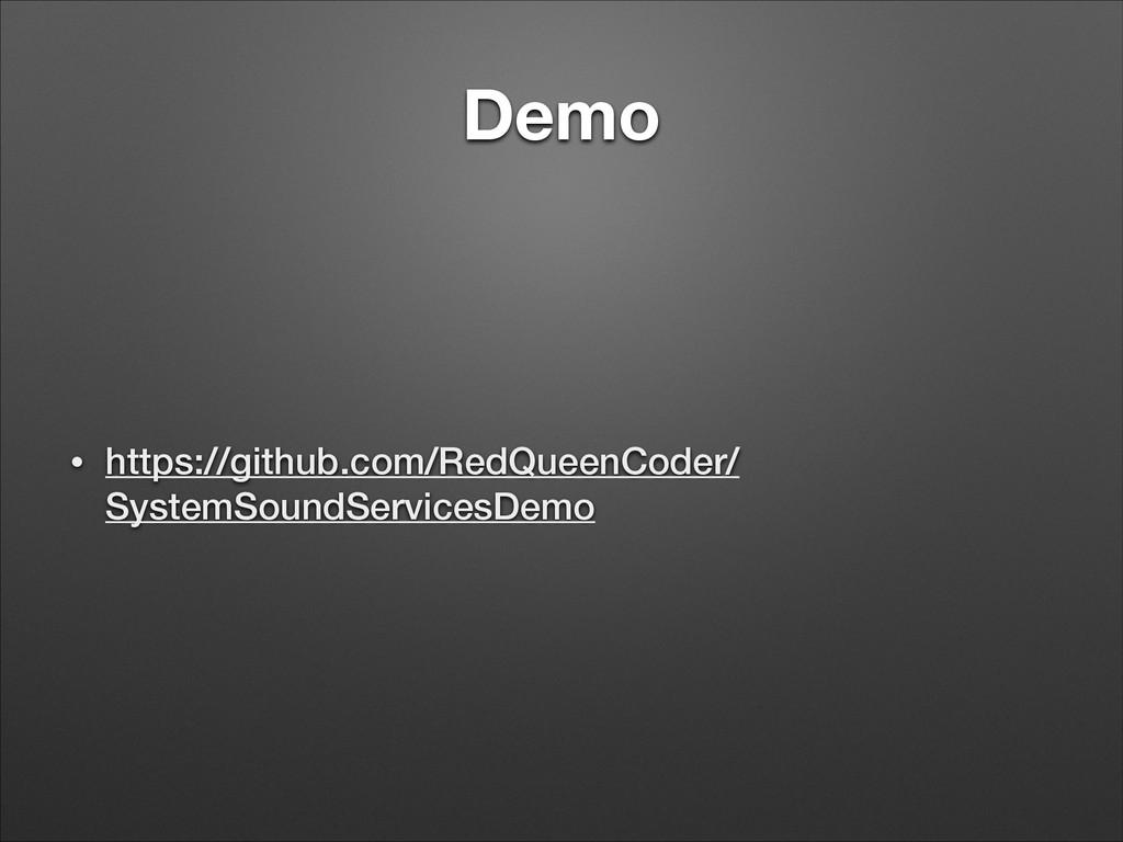 Demo • https://github.com/RedQueenCoder/ System...
