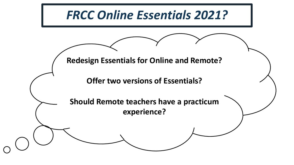 Redesign Essentials for Online and Remote? Offe...