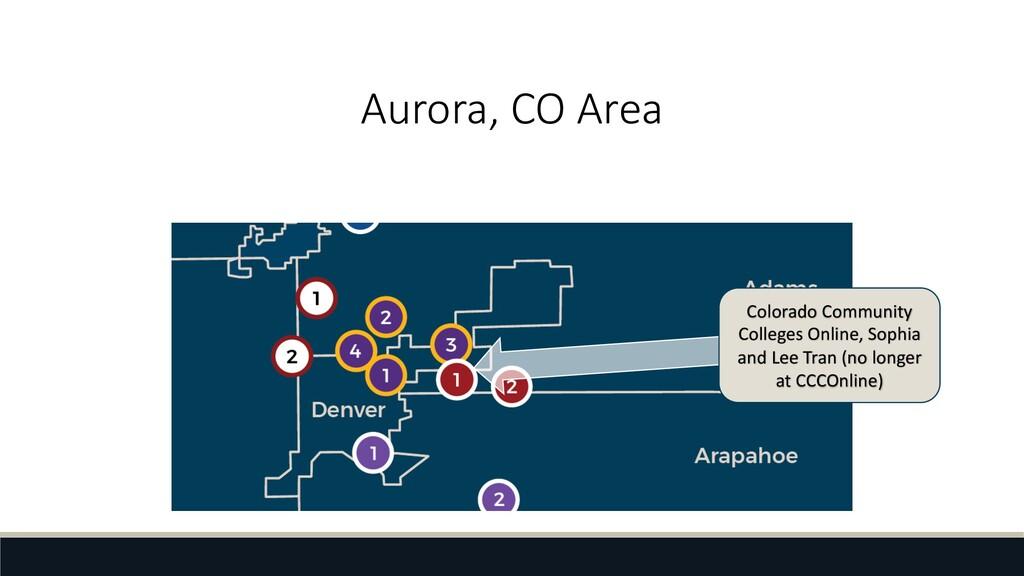 Aurora, CO Area Colorado Community Colleges Onl...
