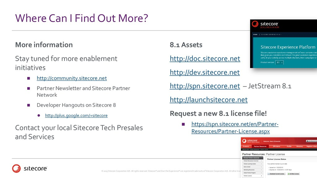 © 2015 Sitecore Corporation A/S. All rights res...