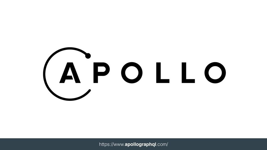 https://www.apollographql.com/
