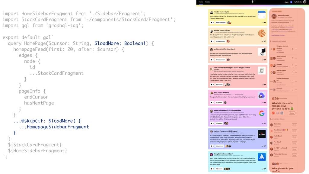 import HomeSidebarFragment from './Sidebar/Frag...