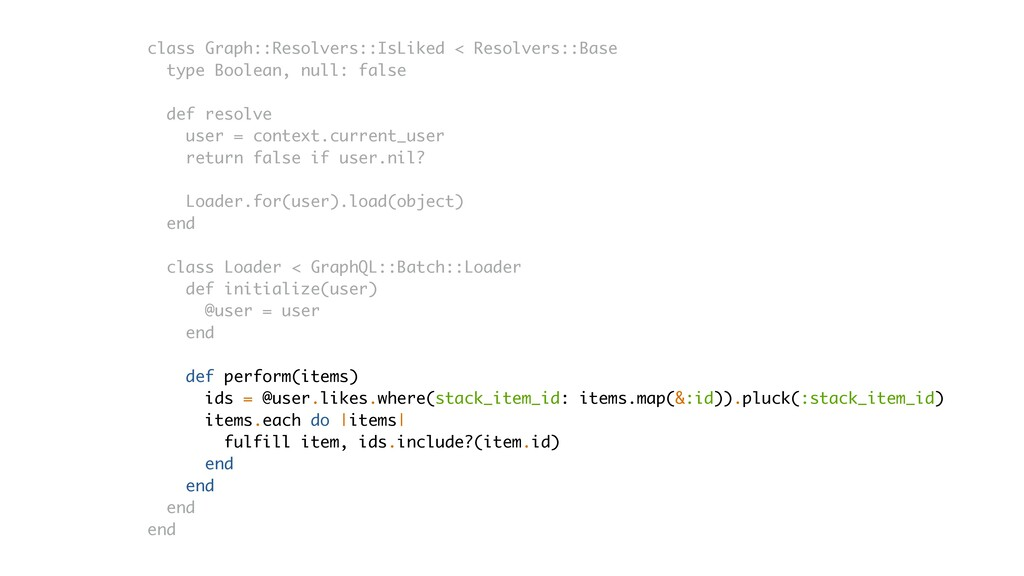 class Graph::Resolvers::IsLiked < Resolvers::Ba...
