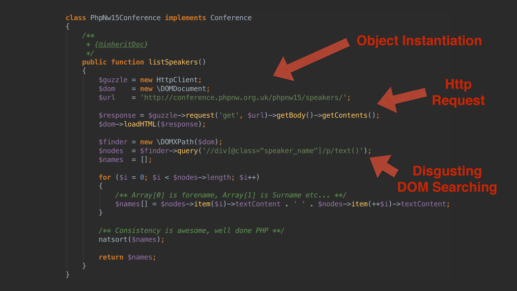 Object Instantiation Http Request Disgusting DO...