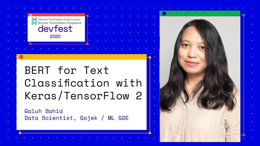 BERT for Text Classification with Keras/TensorFl...