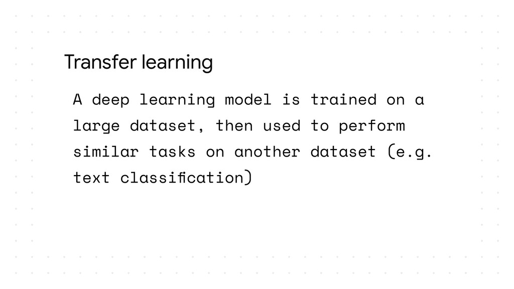 A deep learning model is trained on a large dat...